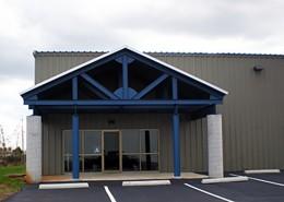 Blue Pants Brewery - Joe Still Building